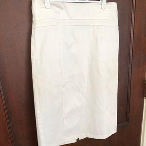 Express White Pencil Skirt